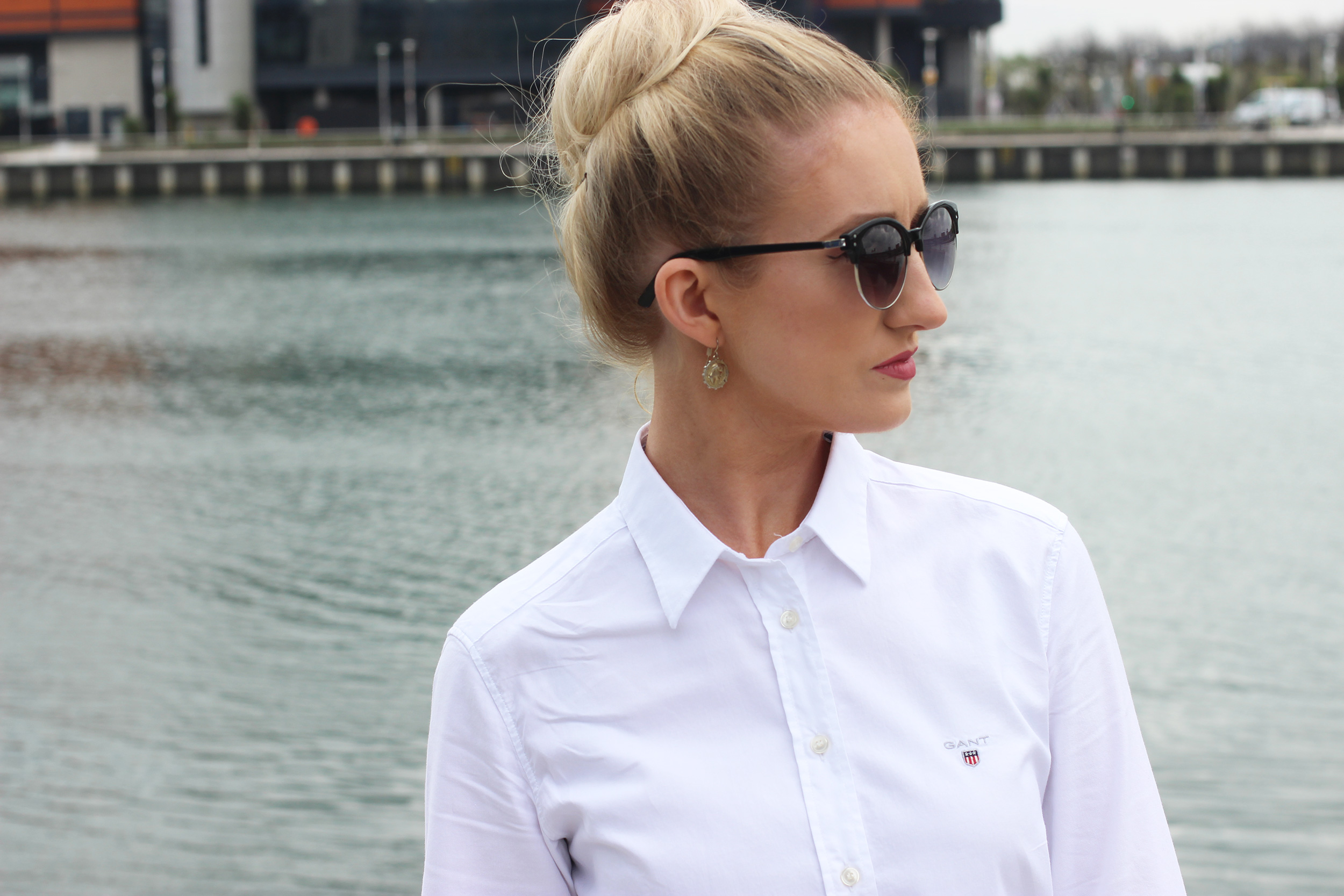 gant-white-shirt,-fashion-blogger-ireland