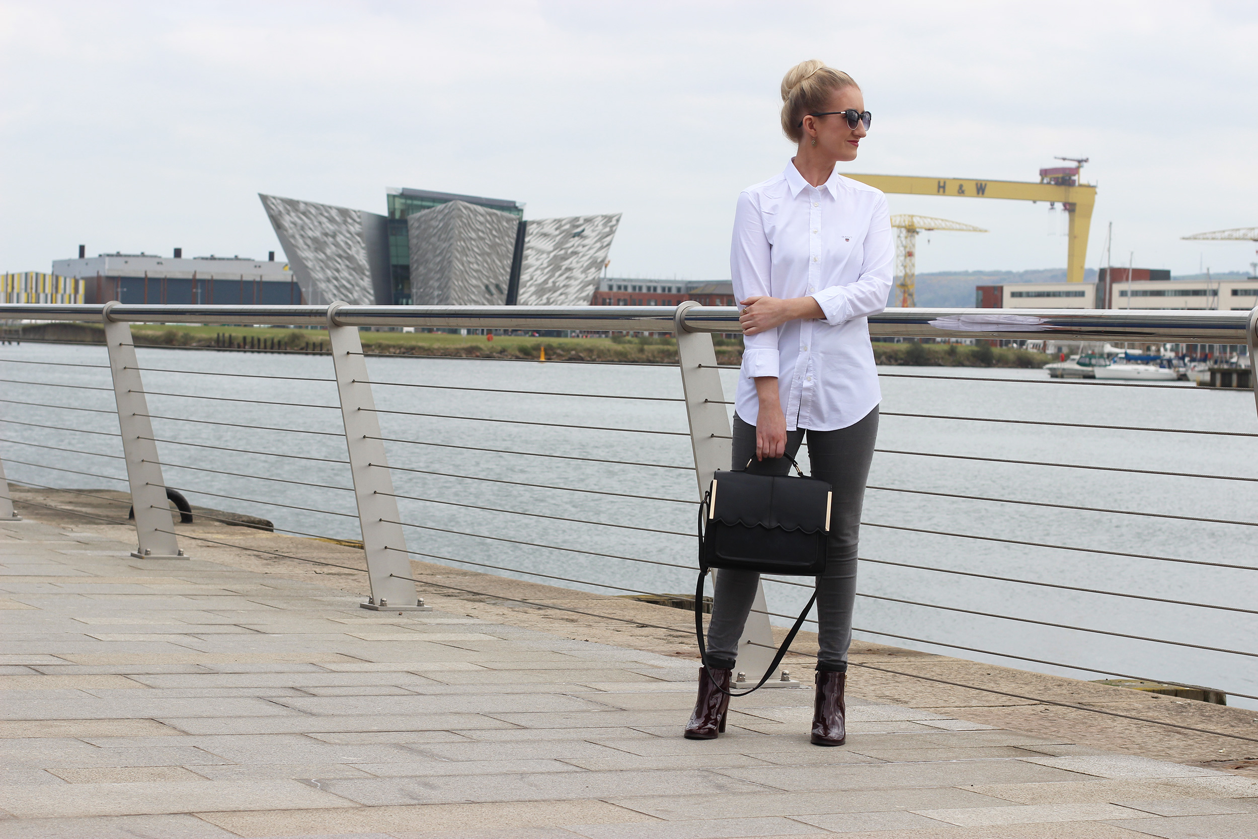 gant-white-shirt,-next-oxblood-ankle-boots,-asos-scallop-edge-handbag